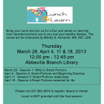 Lunch and Learn Programs – Abbeville
