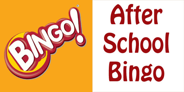 after school bingo