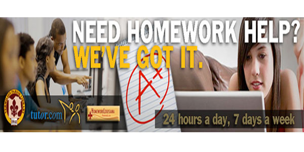 "Online Resource: ""Live Homework Help"" for your kids"