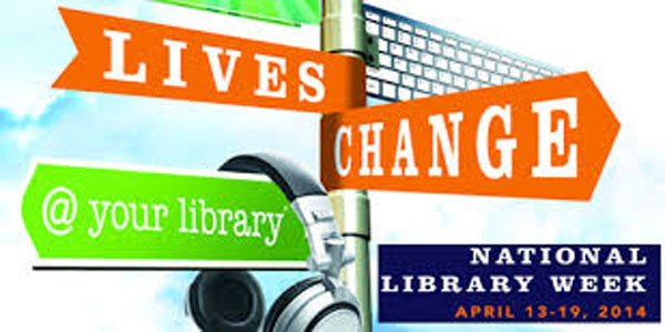 National Library Week – Food for Fines
