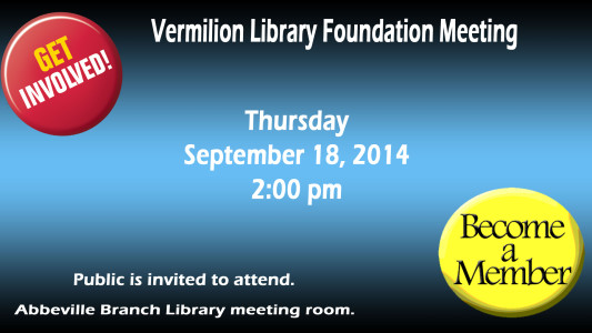 Library Foundation Meeting